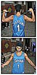 Hipnotik, Fan NBA de Anfernee Hardaway