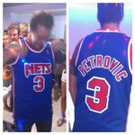 Manu, Fan NBA de Drazen Petrovic