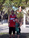 Aaron, Fan NBA de Kevin Garnett