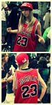 Hipnotik, Fan NBA de Michael Jordan