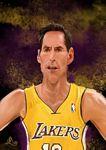Caricatura NBA de Steve Nash por Arimations