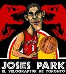 Caricatura NBA de Jos� Manuel Calder�n por Caye