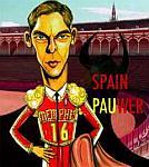 Caricatura NBA de Pau Gasol por Caye