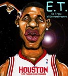 Caricatura NBA de Tracy McGrady por Caye