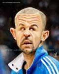 Caricatura NBA de Jason Kidd por David Duque