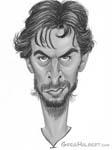 Caricatura NBA de Pau Gasol por Greg Halbert