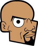 Caricatura NBA de Alonzo Mourning por JoeNetsFan