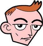 Caricatura NBA de Keith Van Horn por JoeNetsFan