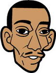 Caricatura NBA de Kerry Kittles por JoeNetsFan