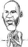 Caricatura NBA de Michael Jordan por Armand Escandell