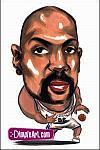 Caricatura NBA de Dale Davis por DimpleArt