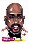 Caricatura NBA de Gary Payton por DimpleArt