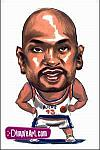 Caricatura NBA de Glenn A. Robinson por DimpleArt