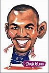 Caricatura NBA de Jason Kidd por DimpleArt