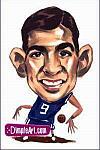 Caricatura NBA de John Stockton por DimpleArt