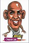 Caricatura NBA de Reggie Miller por DimpleArt