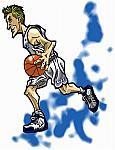 Caricatura NBA de Andrei Kirilenko por Makoto