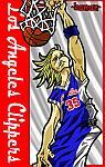 Caricatura NBA de Chris Kaman por Makoto
