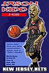 Caricatura NBA de Jason Kidd por Makoto