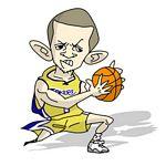 Caricatura NBA de Jordan Farmar por Makoto
