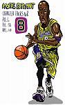 Caricatura NBA de Kobe Bryant por Makoto