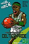 Caricatura NBA de Paul Pierce por Makoto