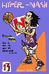 Caricatura NBA de Steve Nash por Makoto