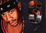 Caricatura NBA de Allen Iverson por Mark Jorgenson