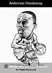 Caricatura NBA de Anfernee Hardaway por Silvermeow