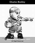 Caricatura NBA de Charles Barkley por Silvermeow