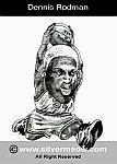 Caricatura NBA de Dennis Rodman por Silvermeow