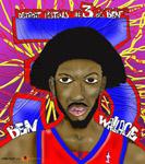Caricatura NBA de Ben Wallace por white boyZ