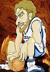 Caricatura NBA de Pau Gasol por white boyZ