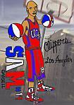 Caricatura NBA de Sam Cassell por white boyZ