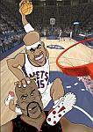 Caricatura NBA de Shaquille O'Neal por white boyZ