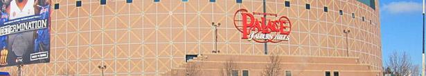 Detroit Pistons The Palace of Auburn Hills