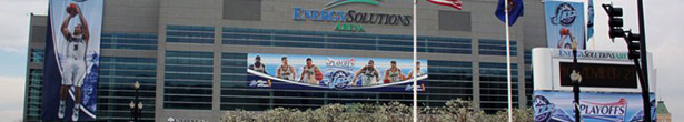 Utah Jazz EnergySolutions Arena