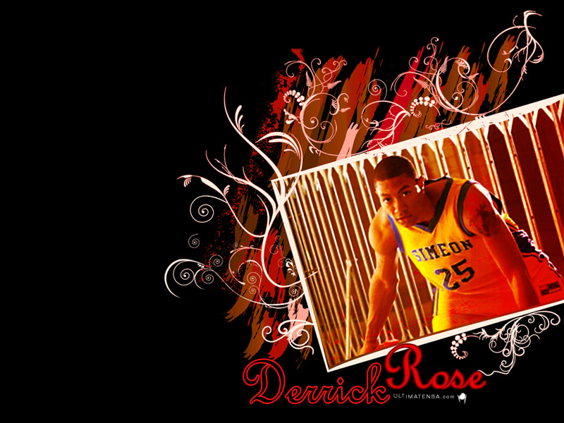 derrick rose wallpaper. Wallpaper Derrick Rose