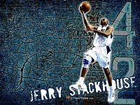 Wallpaper Jerry Stackhouse