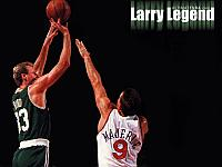 Wallpaper Larry Bird