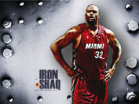 Wallpaper Shaquille O'Neal